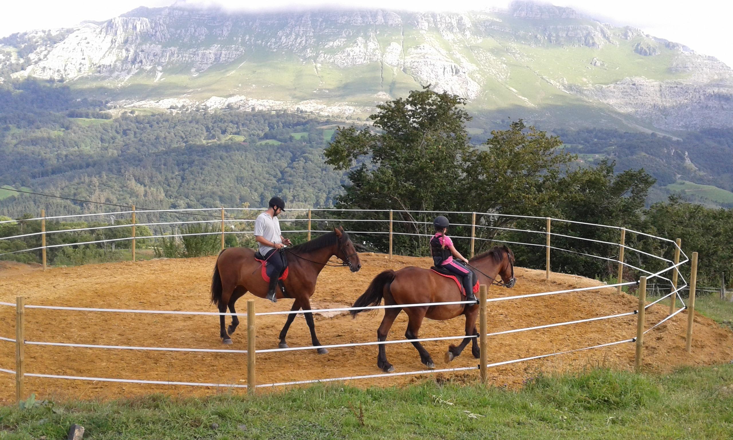 Finca con caballos en Arredondo